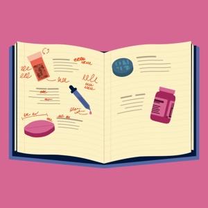 A medication journal.