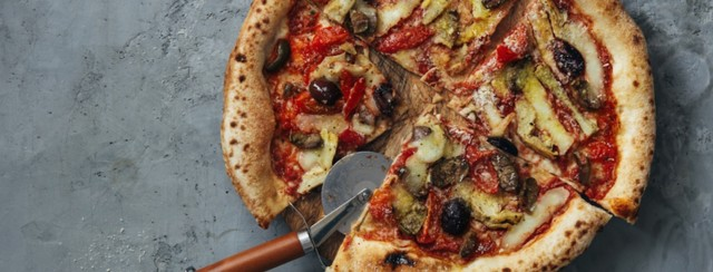 Mediterranean Pizza image