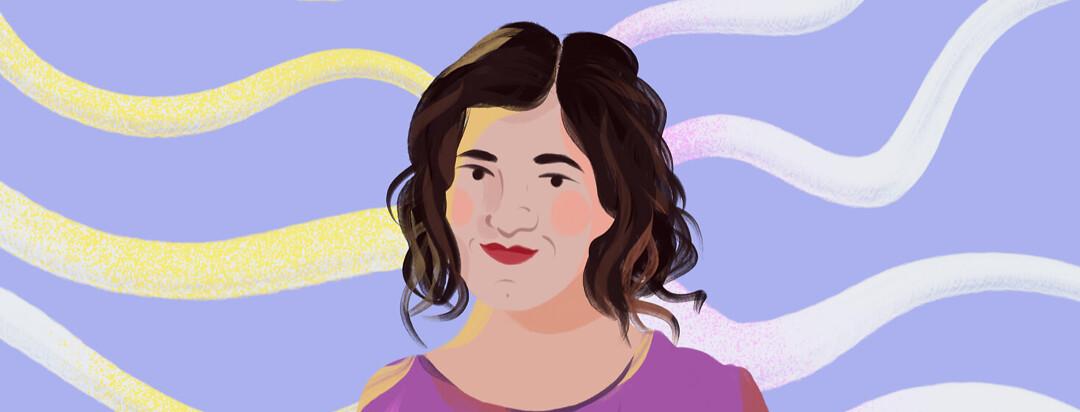 Portrait of Emily Kramer-Golinkoff from Emily's Entourage