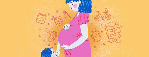 Daily Routine as a Pregnant Preschool Mom with CF image